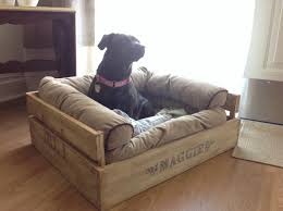 Diy Dog Bed Love This So Easy To Make Diy Rustic Dog Bed Made From Pallets