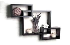 Wall furniture shelves Wall Hanging Usha Furniture Set Of Interlocking Wall Shelves black Lowes Usha Furniture Home Cleaning Utility Prices In India Sun Jan 06