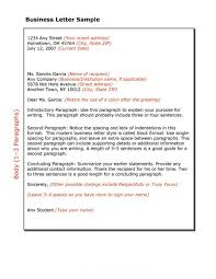 Simple Business Letter Format Sample Business Letter Template Dlsource