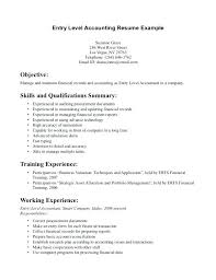 Cpa Resume Objective Resume Objective Samples Best Of Accounting ...