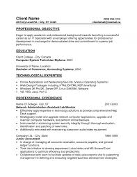 Resume Without Objective Samples Accounting Resume Objective Samples Best Solutions Entry Level