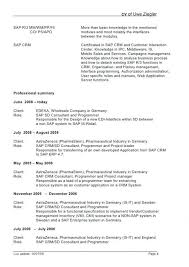 Business Objects Developer Sample Resume