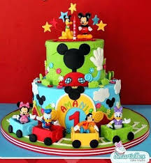 Mickey And Minnie Cakes Ideas Baby Birthday For Boys By Best Boy