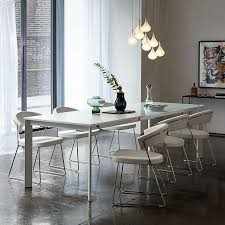 john lewis odyssey 6 10 seater extending dining table white at johnlewis