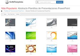 Plantillas Para Software De Presentaciones Como Presentaciones De