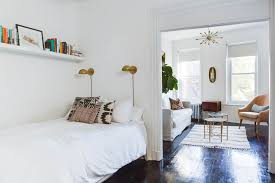 Image image Credit Minette Hand Apartment Therapy Best Small Bedroom Ideas Design And Storage Tips Apartment Therapy