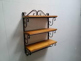 fab wrought iron kitchen shelf wall shelves wrought iron shelves wall mounted wrought