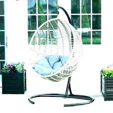 egg chair outdoor furniture hanging chairs for outside porch with stand e