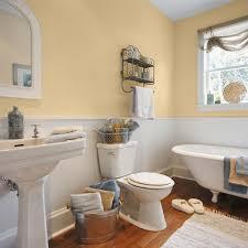 Painting In Bathroom Yellow Paint Bathroom