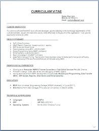Format To Write Resume How Proper Format To Write A Resume