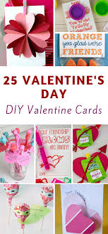 25 Easy Diy Valentines Day Cards The Frugal Navy Wife