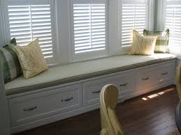 Bay Window Bench With Drawers ...