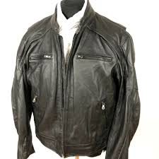 harley davidson reflective willie g skull black leather jacket 98099 07vm 2xl