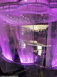 crystal clear the chandelier in the cosmopolitan las vegas is a playground art exhibit