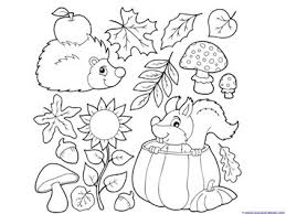 Fall Coloring 5 fall coloring pages 1 1 1=1 on fall coloring pictures