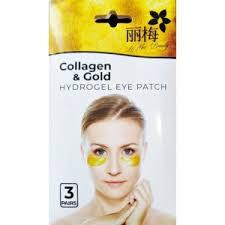 <b>Гидрогелевые патчи</b> для глаз LiMei Beauty Collagen & Gold ...