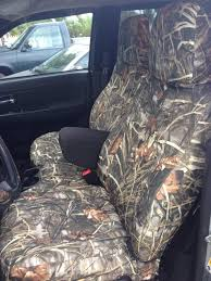 realtree custom seat covers