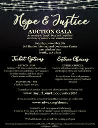 Auction Invitations Adwas Abused Deaf Womens Advocacy Services 2016 Adwas Hope
