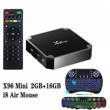 X96 Mini S905W 2GB 16GB TV Box Wireless Keyboard Combo Sold At Best Price  Android 7.1 Smart TV Box +I8 Air Mouse Tv Box Sets Open Box Tv From  Flysharkcompany, $25.68