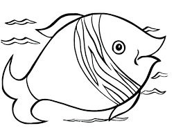 Free Fish Coloring Pages Printable Template Printable Coloring Pages