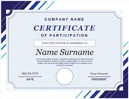 Microsoft Award Templates Certificates Office Com