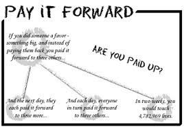Pay It Forward Quotes Simple Megan Bostic's Creative Chaos Paying It Forward
