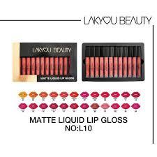 lakyou beauty matte liquid lip gloss