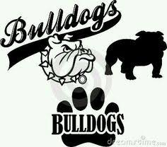 bulldog paw clipart. Modren Paw Ga Decals Monogram Pinterest Etsy Cricut And School Mascot Bulldog Clip Paw  Clipart Bulldogs Georgia To Bulldog Clipart
