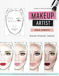Blank Face Charts To Print Makeup Face Charts The Blank Workbook Paper Practice Face
