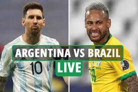 Argentina Vs Brazil LIVE: Follow All ...