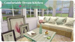 Sims Kitchen Sims 4 Comfortable Dream Kitchen Dinha