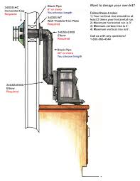 direct vent wood stove wb designs for contemporary house direct vent wood burning fireplace designs