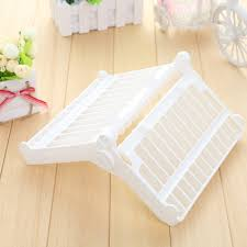 Us 679 New Foldable Dish Plate Rack Organizer Drainer Sink Insert Plastic Storage Shelf Holder Kitchen Hot In Storage Holders Racks From Home