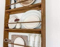 wooden corner plate rack off 53