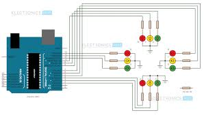 arduino traffic light controller arduino uno pin diagram explanation at Arduino Uno Wiring Diagram