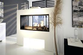 full image for double sided electric fireplace stunning decor with contemporary open canada dual fireplaces