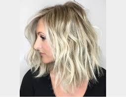Image Coiffure Pour Blonde Cheveux Mi Long Coiffure Cheveux