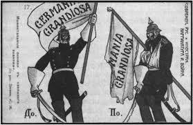 Нарастание противоречий между европейскими державами в начале xx  Русская открытка с карикатурой на германского императора Вильгельма ii