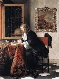 455px Gabriel Metsu Man Writing a Letter JPG