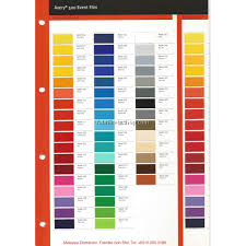 Avery 900 Supercast Colour Chart Avery 500 Event Film Colour Chart