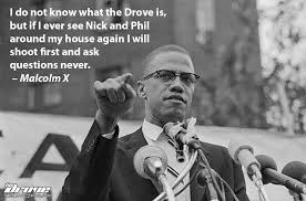 Malcolm X Quotes Stunning Real Celebrity Quotes With Malcolm X THE DROVE