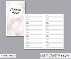 Address Book Template Excel 30 Address Book Templates Free Word Excel Pdf Designs