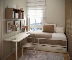 Good use of small room: study + guest bedroom.
