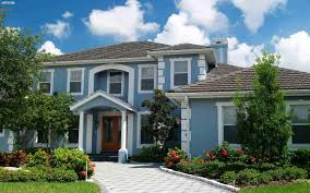 white front door blue house. Light Blue Painted Wall White For House Accent Wooden Front Door Small Porch Beautiful