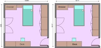 kids bedroom dimensions, child's room measurements,   dječja soba in ...