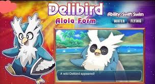 fan made pokemon. delibird-alola form fan made pokemon
