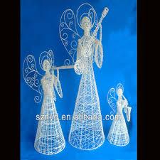 diy outdoor angel angels with led lights decoration htb18uoaiva3q6fxe solar angel outdoor lights