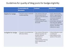 rudai things for information skills digital badges faq 6 what happens if my blog post is not eligible for the badge