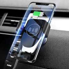 Qi Fast Wireless Car <b>Charger Magnetic Holder</b> Fr iPhone X XS Max ...
