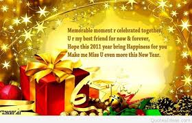 Quotes For Christmas And New Year Greetings